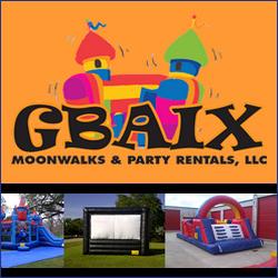 GBAIX Moonwalks and Party Rentals, LLC